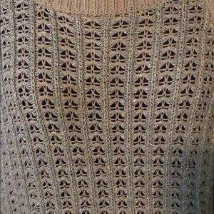 LOFT Sweaters - Ann Taylor Loft size medium sweater taupe